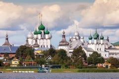 Rostov Kremlin, anneau d'or de la Russie photo libre de droits