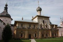 Rostov Kremlin. Church of the Protectress. Stock Photos