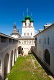 Rostov Kremlin and the Church of St. John Stock Images