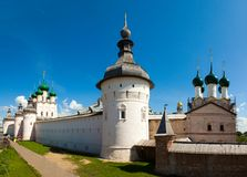 Rostov Kremlin and the Church of St. John Royalty Free Stock Photos
