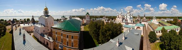 Rostov Kremlin and the Church of St. John Stock Photo
