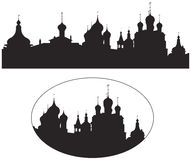 Rostov Kremlin Churches Russian Landmark Stock Photo