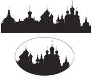 Rostov Kremlin Churches Russian Landmark Stock Photo