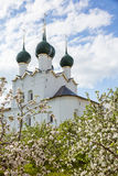Rostov Kremlin garden Royalty Free Stock Photos