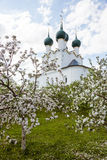 Rostov Kremlin garden Stock Photography