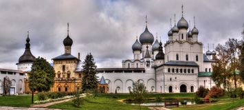 Rostov Kremlin, Golden Ring, Rostov Velkii, Russia royalty free stock photo