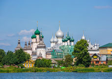 Rostov Kremlin, the Golden ring of Russia Stock Photography