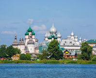 Rostov Kremlin, the Golden ring of Russia Stock Images