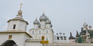 Rostov Kremlin, Russia Royalty Free Stock Photos