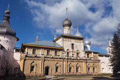 Rostov Kremlin, Russia Royalty Free Stock Photos