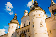 Rostov Kremlin.Russia,temples. royalty free stock photos