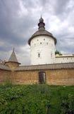 Rostov Kremlin watchtower Church of St. John the Theologian Stock Photography