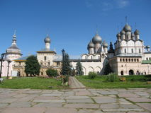 Rostov, Russia. Russia, old historical town Rostov (one of the best historical towns called Golden ring of Russia), Kremlin, churches Stock Images