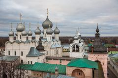 Rostov, Russia. Image of ancient Rostov city, view Stock Images