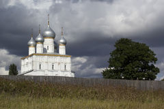 Rostov Veliky, the Conception Cathedral.   Royalty Free Stock Image