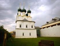Rostov Veliky Kremlin the Church of St. Gregory the theologian. Rostov Veliky Kremlin  the Church of St. Gregory the theologian loopholes Stock Images