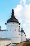 Rostov Veliky, Russia-March 30.2016.  Guard Towers of  Kremlin Royalty Free Stock Image