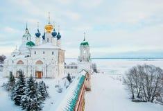 Rostov Veliky in winter Stock Photography