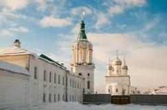 Rostov Veliky in winter Royalty Free Stock Photos