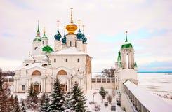 Rostov Veliky in winter Royalty Free Stock Photo