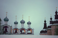 Rostov, winter Royalty Free Stock Image