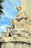 Rostral column in Marseille Royalty Free Stock Image