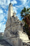 Rostral column in Marseille Stock Images