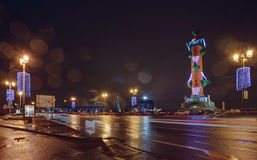 Rostral columns Stock Images