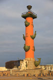 Rostral columns Royalty Free Stock Photo