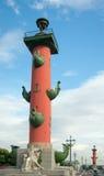 Rostral columns, Saint Petersburg Royalty Free Stock Photos