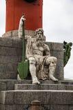 rostral kolonn petersburg saint Royaltyfria Bilder