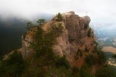 rostrum βράχου στοκ εικόνα με δικαίωμα ελεύθερης χρήσης