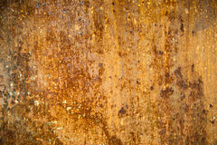 Rosttextur på metall rostad yttersida Royaltyfri Bild