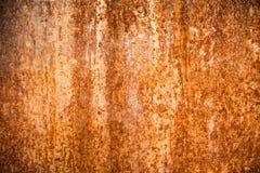Rosttextur på metall rostad yttersida Royaltyfria Bilder