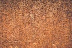 Rosttextur på stål Royaltyfri Foto