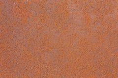 Rosttextur som bakgrund för metallplatta Royaltyfri Fotografi