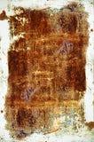 rosttexturvägg Arkivfoto