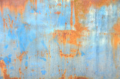 Rosty ściana Obraz Stock