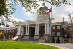 Roswell City Hall Government byggnad Fotografering för Bildbyråer