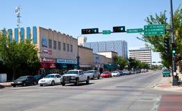 Roswell de stad in Stock Afbeelding