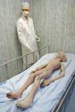 Roswell, Mexiko-tote ausländische Marionette Stockbild