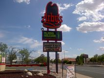 Roswell New Mexico-UFO Royalty-vrije Stock Foto's