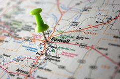 Roswell, New Mexiko Stockfotografie