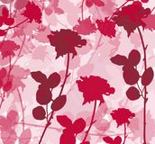 Rosy background. Great as romantic background, or card / poster etc vector illustration
