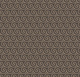 Rosy Brown Colors Wave Pattern. Korean traditional Pattern Desig Royalty Free Stock Image