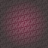 Rosy Brown Colors Wave Pattern. Korean traditional Pattern Desig Stock Photo