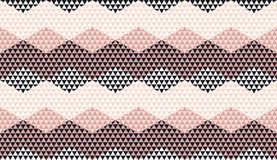 Rosy color geometric textured seamless pattern. For background, wrapping paper, fabric, surface design. Pastel classic repeatable motif in Italian style royalty free illustration