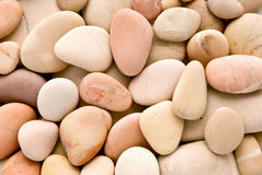 Rosy pebbles stock images
