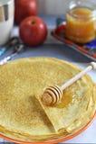 Rosyjscy bliny (Blini) Fotografia Stock