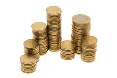 Rosyjscy coints Fotografia Stock